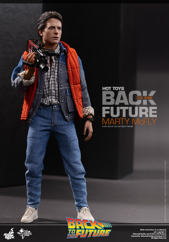 Hot Toys MMS257 Back to the Future MARTY MCFLY Figure 1//6 HANDS #3