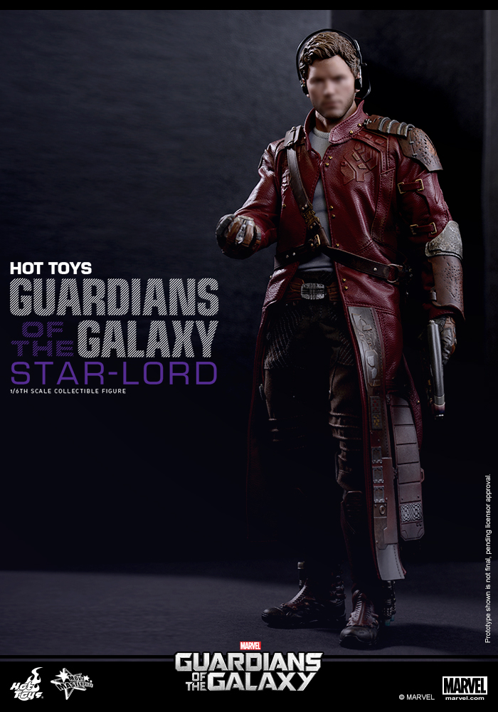 Hot Toys MMS255 Guardians Of The Galaxy 1 6th Scale Star Lord Collectible Figure