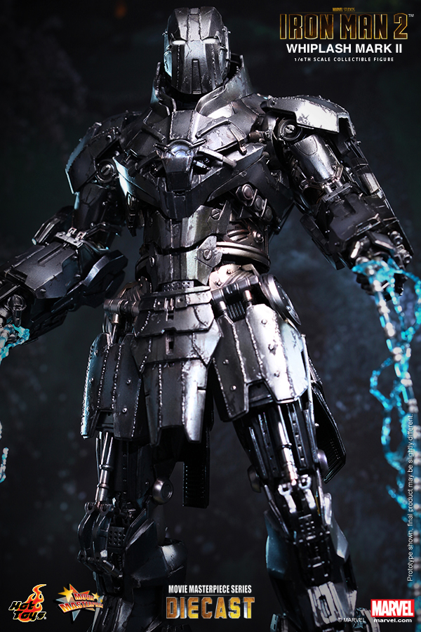 16 Hot Toys Mms 237d06 Iron Man 2 16th Scale Whiplash Mark Ii