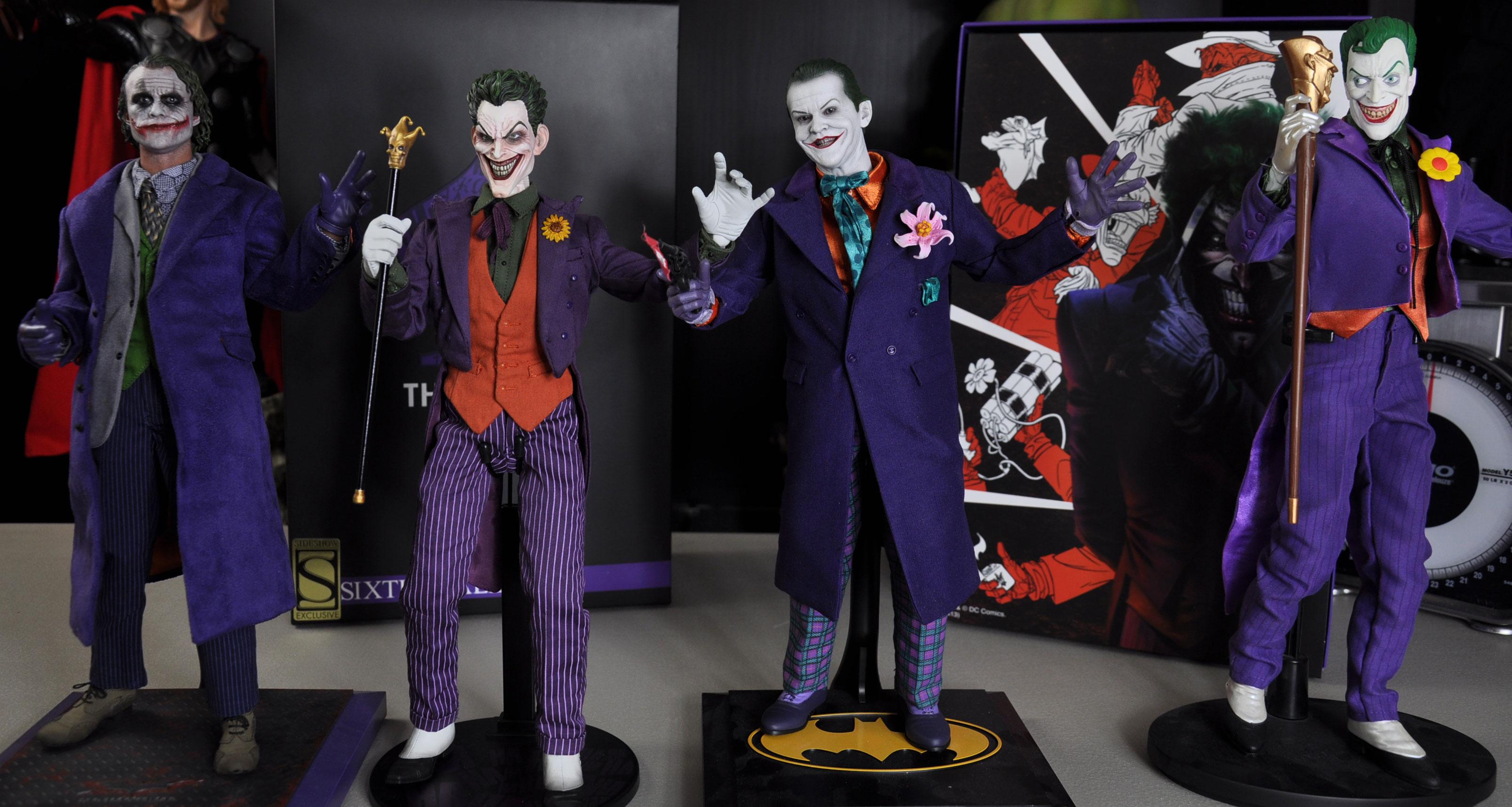 Sideshow S 1st Dc Comics 1 6 Action Figure The Clown