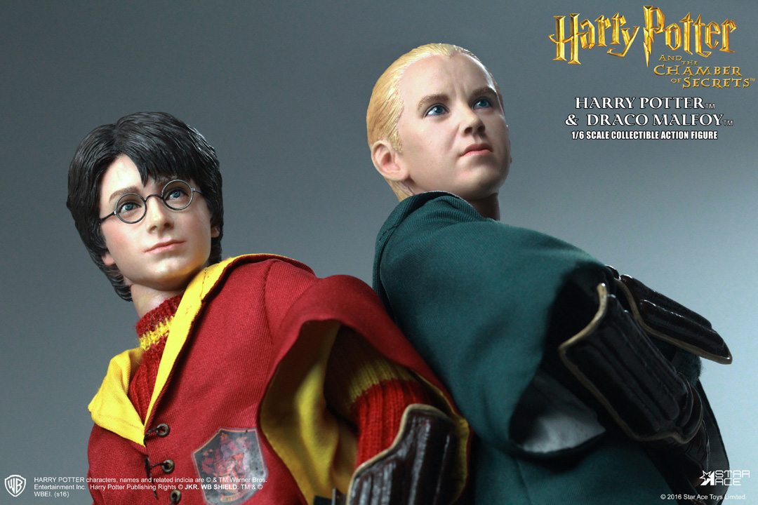 Star Ace Harry Potter 1/6 - Quidditch Harry and Malfoy ...