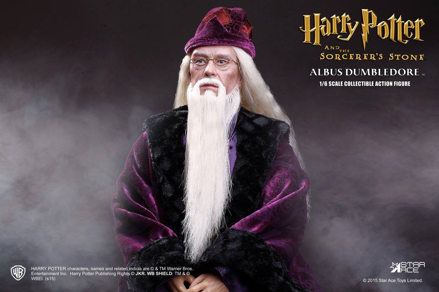 Star ace 1 6 richard harris dumbledore harry potter for Name of dumbledore s wand